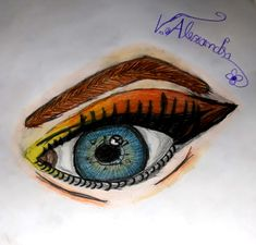 I only saw your eyes. They were so clear that I read your whole soul. Watercolor Tattoo, Posts, Eyes, Tattoos, Messages, Tatuajes, Tattoo, Cat Eyes, Temp Tattoo