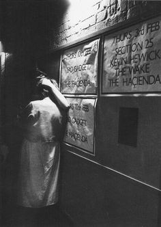 """stoneponi: """" Take me out tonight… young couple at the Hacienda - 1983 """" Unknown Pleasures, Acid House, Soul Funk, Take Me Out, Young Couples, Sound Of Music, In A Heartbeat, Cool Cats, Reggae"""