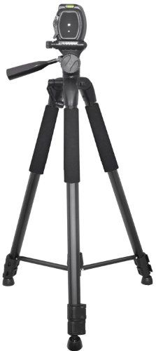 Introducing Professional 75inch Tripod 3way Panhead Tilt Motion with Built In Bubble Leveling for Canon Nikon Sony Pentax Sigma Fuji Olympus Panasonic JVC Samsung Cameras  Camcorders. Great product and follow us for more updates!