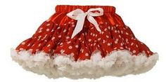 Little girls fashion - petticoat / pettiskirt polkadot