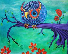 Owls Featured Images - Enchanted Owl  by Laura Barbosa