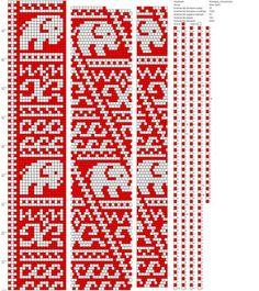 Фотографии Жгуты из бисера схемы