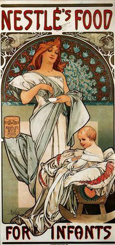 Le Prince Lointain: Alphonse Mucha (1860-1939), Affiche pour la Nourri...