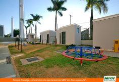 Paisagismo do Amarige. Condomínio fechado de apartamentos localizado em Araraquara / SP.