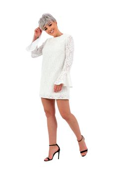 This cute little white, lace dress will definitely steal your heart. Perfect for a cocktail party in the sunny spring. Please check our size chart before placing the order. If you have doubts or questions about it DO NOT HESITATEto contact us! We are here to help you! Little White, White Lace, Sunnies, Lace Dress, Size Chart, Cocktail, This Or That Questions, Heart, Spring