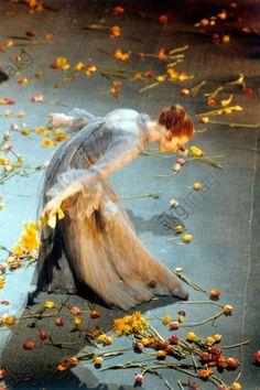 Ballet dancer Maya Plisetskaya (born in 1925), ballet dancer with the State Academic Bolshoi Theater of the USSR.