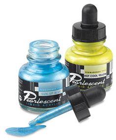 Pearlescent Liquid Acrylic Artist's Inks