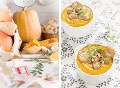 La receta de la crema de calabaza asada resulta deliciosa para disfrutar en otoño. Las calabazas butternut o potimarrón son idóneas para aportar cremosidad.