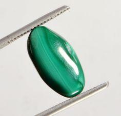 9.70 Ct Certified Natural Oval Cabochon Malachite  Gemstone St-6439