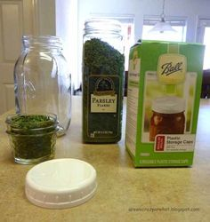 Storing herbs and spices long term