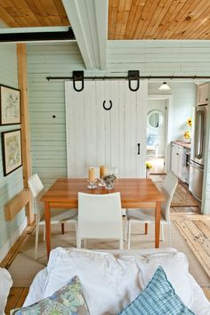 Very Chic Barn Renovated With Leftover Materials
