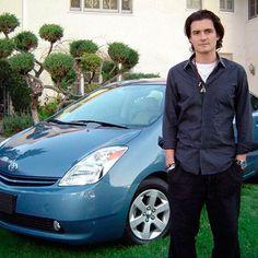 Orlando Bloom es uno de nuestros #Toyoteros con su #ToyotaPrius www.autoamerica.com.co