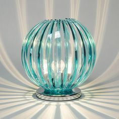 Table Lamp Disco Blue