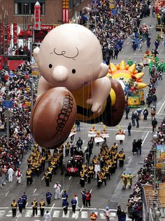 Macy's day parade - New York! Did it!!! With Jim, Chris, Anjilee.  We also toured all the major sites. done in 2013!