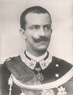 The King of Italy, Vittorio Emanuele III, who reigned from 1900 to He survived two world wars - his crown did not. World War Two, Old World, Charles Emmanuel, House Of Savoy, King Of Italy, Charlize Theron Style, Last Emperor, Her Majesty The Queen, King Queen
