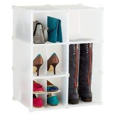 Stay organized by storing shoes and other items under your bed or in your closet with this shoe organizer.