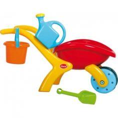 Design Schubkarren - Set Gowi . Bei Kindern sehr beliebt für das Spielen im Sandkasten. Outdoor Fun, Measuring Cups, Wheelbarrow, Shovel, Sandbox, Contemporary Design, Bucket, Popular