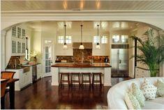 wooden kitchen bar stools | Kitchen: Dark Wooden Foor Classic Bar Stools Modern Vintage Kitchen ...
