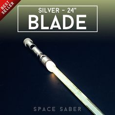 GloFX Space Saber  24 Silver Blade Aluminum Powerhouse by GloFX
