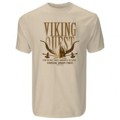 Entourage Viking Quest T-Shirt Entourage, Tee Shirts, Tees, Vikings, The Past, Mens Tops, Shopping, Products, The Vikings