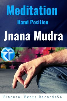 Meditation  / Hand Position / Jnana Mudra / Records54 ( #Meditation   #Hand Position #Jnana Mudra #Yoga / #Records54 Meditation Hand Positions, Positivity, Hands, Yoga, Yoga Sayings, Optimism