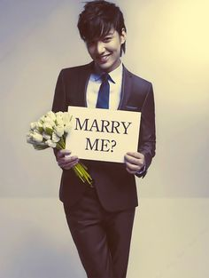 You darn right I'd marry Lee Min Ho!