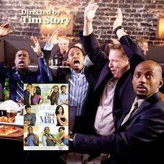 """""""What do you call the three rings of marriage? Engagement ring, wedding ring and suffering."""" Think Like a Man. Michael Ealy, Jerry Ferrara, Meagan Good, Regina Hall, Kevin Hart, Taraji P. Henson, Terrence Jenkins, Jenifer Lewis, Romany Malco, Gary Owen, Gabrielle Union, La La Anthony, Chris Brown."""
