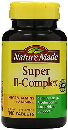 Nature made super b complex side effects