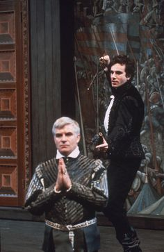 Daniel Day-Lweis as Hamlet - 1989 at the National Theatre, London