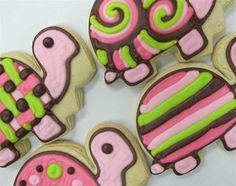 Love these turtle cookies!