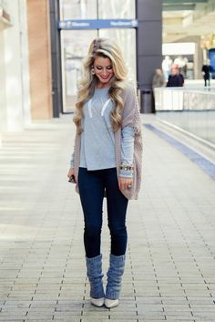 Lovely Little Style: Kentucky Pride Fall Winter Outfits, Winter Wear, Autumn Winter Fashion, Winter Clothes, Fall Fashion, Hipster Outfits, Cute Outfits, Happily Grey, Cool Fabric