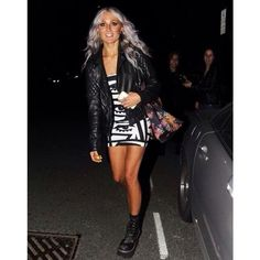 Lou leaving the This Is Us premiere! Lou Teasdale ❤ liked on Polyvore featuring lou teasdale