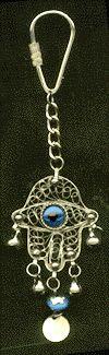 Filigree-Metal-Hamsa-Hand-Key-Ring-Blue-Cabochons-Anti-Evil-Eye-at-the-Lucky-Mojo-Curio-Company