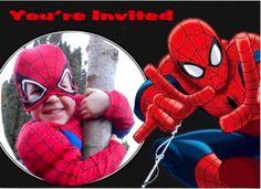 Elk jaar een uitdaging....een speciale uitnodiging te creëren voor mijn zoon :)…