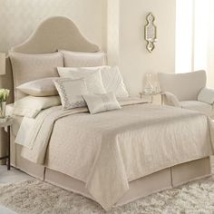 Jennifer Lopez bedding collection Porcelain Coverlet