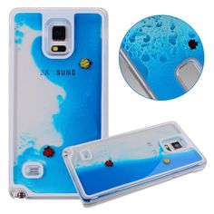 An aquarium phone case? And the fish are real? Just kidding. But you can make them move. At least you won't need to feed them - $10.99 #fish #phonecase #cool #galaxy #geeky