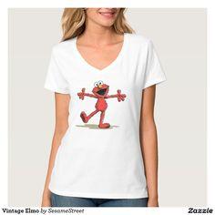 Vintage Elmo. Regalos, Gifts. #camiseta #tshirt