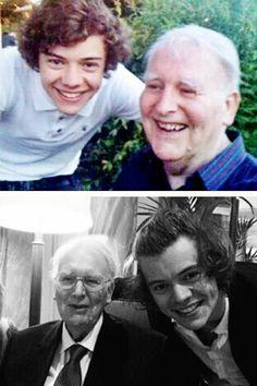 Harry and his grandpa