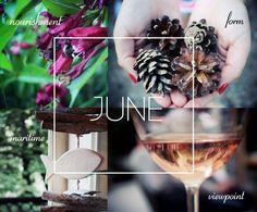 Hello June! #seasons #month #summer