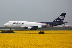 Boeing 747-4H6(BDSF) World Airways Cargo von MRC