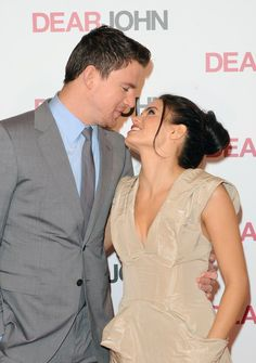 Pin for Later: 34 Hot Pictures of Birthday Boy Channing Tatum!  Channing had his real-life leading lady by his side at the March 2010 London screening of Dear John.
