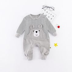Toddler Vintage Style Camel Short Sleeve Climbing Clothes Playsuit Suit 6-24 Months