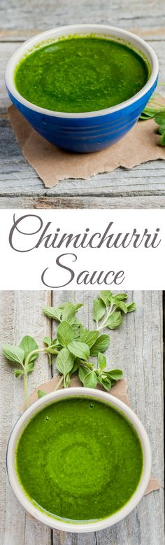 If you've never had Chimichurri Sauce you're missing out! A perfect accompaniment to your next Steak Dinner!