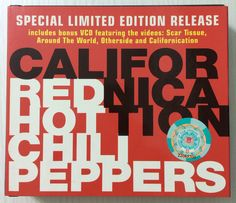 "Red Hot Chili Peppers ""Californication"" special limited edition release, includes bonus VCD featuring 4 music videos, 2000. [Front view]"