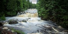 Whether you like to backpack or relax in a cabin, check out these great locations to camp near waterfalls and other beautiful scenery across Wisconsin.