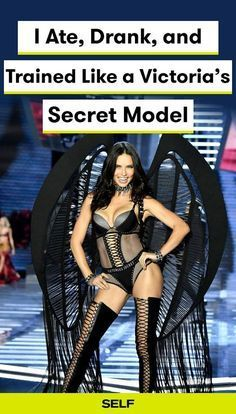 The Victoria's Secret Angels are well-known for their vigorous workout and diet regimens, so I decided to try it. I exercised with a personal trainer at got up early every day for training. Here's my workout and food routine for the two weeks.