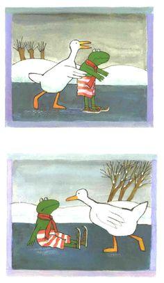 Kikker in de kou! by Max Veldthuis Winter Project, Close Reading, Matching Games, Kindergarten Worksheets, School Supplies, Winter Wonderland, Childrens Books, Moose Art, Illustration Art