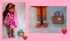 Chaussures + Sac pour poupée Corolle Les Chéries Fait Main !! in Jeux, jouets, figurines, Poupées, vêtements, access., Autres | eBay