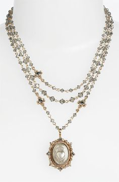 Virgins Saints and Angels 'Oval Magdalena' Necklace (Nordstrom Exclusive) available at #Nordstrom