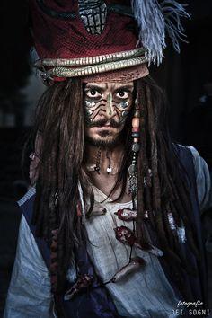 Captain Jack Sparrow by dei-sogni.deviantart.com